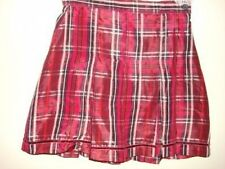 gap girls special occasion red pleated skirt size 7