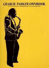 CHARLIE PARKER OMNIBOOK imparare a giocare e piatto JAZZ alto SAX SASSOFONO MUSICA LIBRO