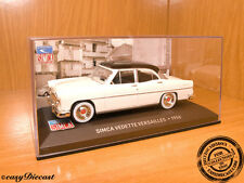 SIMCA VEDETTE VERSAILLES WHITE/BLACK TOP 1:43 1956 MINT