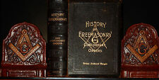 MASONIC HISTORY FREEMASONRY LEATHER OCCULT KNIGHT TEMPLARS CONCORDANT ORDERS