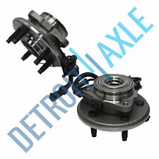 Both (2) New Complete Front Wheel Hub and Bearing Assembly ABS - Ford Explorer