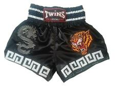 Twins Special Thai Boxing Shorts-Dragon and Tiger Size-L