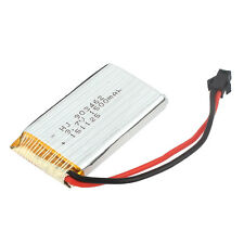 3.7V 1500mAh Rechargeable RC Li Lithium Polymer Lipo Battery Cell SM-2P Adapter