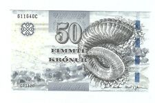 Faeroe faroe Islands 50 kroner 2011