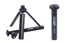 FOTOMATE V-Pod-S Lightweight Adjustable Mini Tripod for Canon Nikon Sony camera
