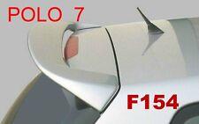 SPOILER ALETTONE  GREZZO PER VW POLO 7 VII 3/5 PORTE 2001 2009 F154G-SI154-1z
