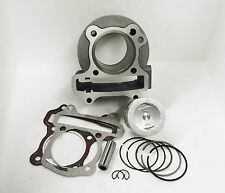 Performance 50mm Big Bore Piston, Rings, & Cylinder-83cc-139QMB & GY6 Scooter