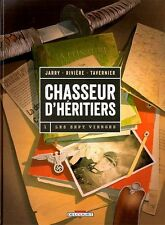 CHASSEUR D HERITIERS  ** TOME 1 LES SEPT VIERGES   ** EO NEUF JARRY/RIVIERE