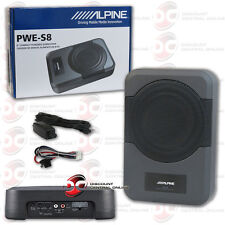 """ALPINE PWE-S8 CAR AUDIO 8"""" COMPACT POWERED SUBWOOFER 120W RMS"""