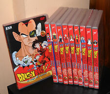 10 Dvd DRAGON BALL Z LA SAGA DI FREEZER la serie Tv Raccolta COMPLETA Dragonball