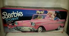 Vintage Barbie '57 Chevy Convertible Pink Car Mattel IN BOX ** FREE SHIPPING **