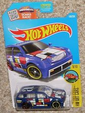 2017 Hot Wheels Car Boom Box #199 Blue MOC HW Toy Truck