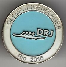 RIO 2016. OLYMPIC GAMES NOC PIN.GERMAN YOUTH CAMP FOR OLYMPICS JUGENDLAGER DRJ