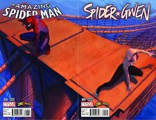 AMAZING SPIDER-MAN #15 SPIDER-GWEN #1 MOLIN COMICXPOSURE CONNECTING VARIANT HOT!