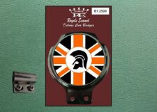 Royale Classic Car Badge & Bar Clip TROJAN SKA ROCKSTEADY REGGAE SKINS B1.2509