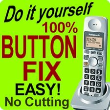 100% Panasonic Cordless Phone Keypad Button Fix KX-TGA101s TGA101b TG1034 TG1031