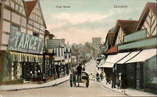 Droitwich. High Street by M.M. Stanton, Newtown, Droitwich. Target Clothing Shop