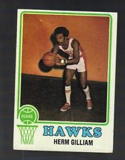 1973-74 TOPPS HERM GILLIAM #106 ATLANTA HAWKS