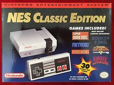 Nintendo Entertainment System NES Classic Edition Mini Console w/ 30 Games NEW!