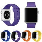New Luxury Sports Silicone Bracelet Strap Band For Apple Watch iwatch 38mm/42mm