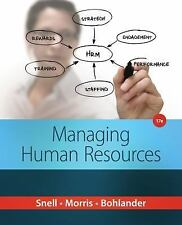 Managing Human Resources, by Snell, 17th Edition