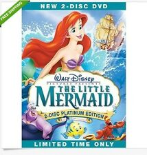 The Little Mermaid (DVD, 2-Disc Platinum Edition)