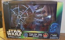 Hasbro Star Wars 1997 Power Of The Force-Final Jedi Duel Action Figure's scene