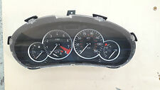 Peugeot 206 gti 180 rc 87K speedo head/instrument cluster clocks 9651744380
