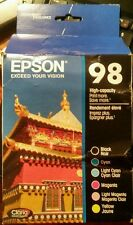 Genuine Epson 98 Multi-Pack Ink Cartridges Contains 6 High-Capacity Cartridges