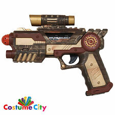 Adults Steampunk Gun Pistol Victorian Fancy Dress Party Costume Accessory