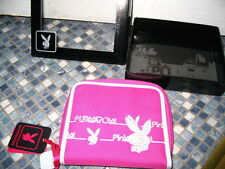 PLAYBOY PINK CANVAS PURSE BRAND NEW GIFT BOXED