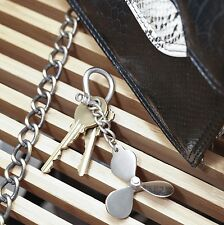 Kikkerland Nautical Ship Propeller Keyring Metal Key Chain Maritime Gift Xmas