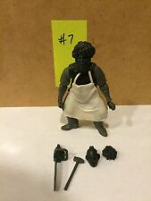 MEZCO CINEMA OF FEAR TEXAS CHAINSAW MASSACRE LEATHERFACE 3.75 INCH PROTOTYPE 7A