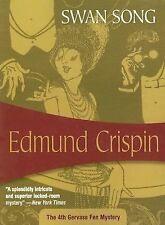 Edmund Crispin Swan Song 4th Gervase Fen Mystery Trade Paperback Felony & Mayhem