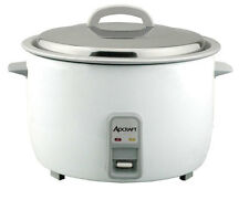 ADCRAFT HEAVY DUTY 50 CUP ELECTRIC RICE COOKER W/ STAINLESS LID - RC-E50