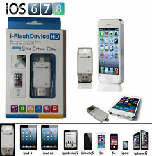 i-FlashDeviceHD 16 Gb OTG Pendrive for Apple iPhone 3G to 6+,iPad,iPod,PC,Tablet