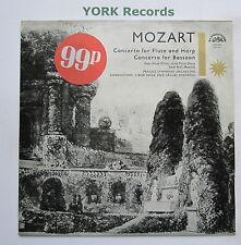 SUA ST 50710 - MOZART - Concerto For Flute & Harp NOVAK / PATRAS - Ex LP Record