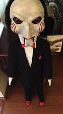 Saw Jigsaw Puppet Annabelle Doll Chucky Halloween Lifesize Horror Movie Prop 1:1