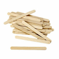 (450 pcs) Wooden ice cream or Kulfi Sticks Craft DIY 4.5 inch Decoration item