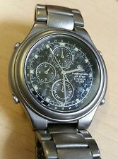 Rare Citizen Attesa Titanium Chronograph 6850 movement