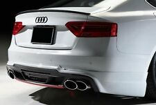 Audi A5 S5 Coupe Rear Boot Spoiler Lip 2007-2011 Sport Trim  S Line  UK Seller