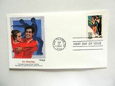 """January 6th, 1984 """"Ice Dancing"""" First Day Cover"""
