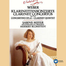 Weber / Sabine Meyer - Clarinet Concertos 1 & 2 / Concertino in E Flat [New CD]