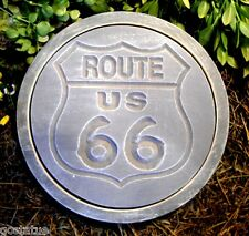Gostatue Route 66 stepping stone plastic mold concrete mold plaster mold mould