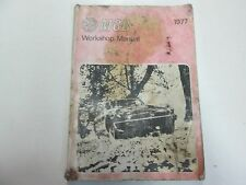 1977 MG MGB Service Repair Workshop Manual STAINED WORN FADED FACTORY OEM DEAL