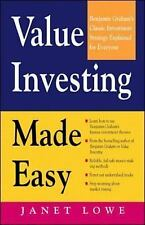 Value Investing Made Easy : Benjamin Graham's Classic Investment Strategy...