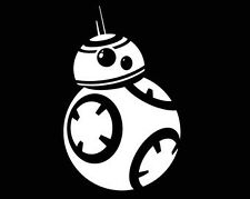 Star Wars Fuerza despierta BB 8, Vinyl Decal Sticker