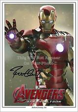 Avengers Iron Man Robert Downey Jr Signed Photo 1st Generation Pre-Print  A4