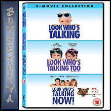 LOOK WHOS TALKING TRILOGY - 1 2 & 3 *BRAND NEW DVD BOXSET*