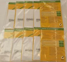 """Lot of 10 """"NORTON SECURITY STANDARD 1 DEVICE"""""""